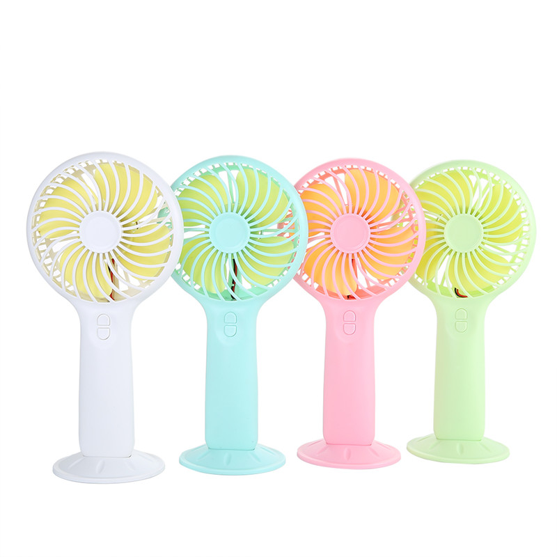 3 kinds speed portable rechargeable usb mini electric hand fan