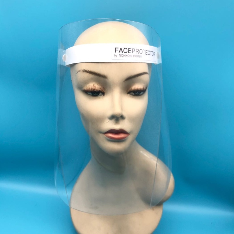 Medical protective isolation face shield