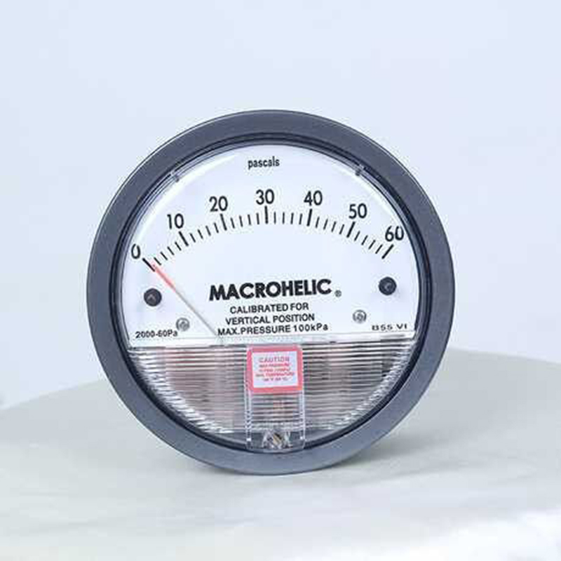 4 Inch 100mm Air Differential Pressure Gauge Magnehelic Gauges along with 6mm Clear PVC Tube
