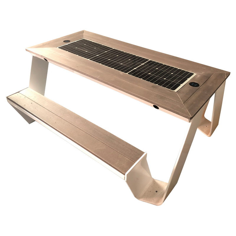 New Design Fashion Style High Quality Solar Smart Bench