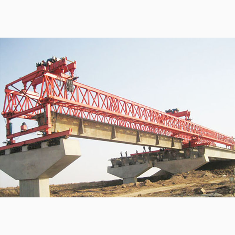 Highway truss type beam launcher