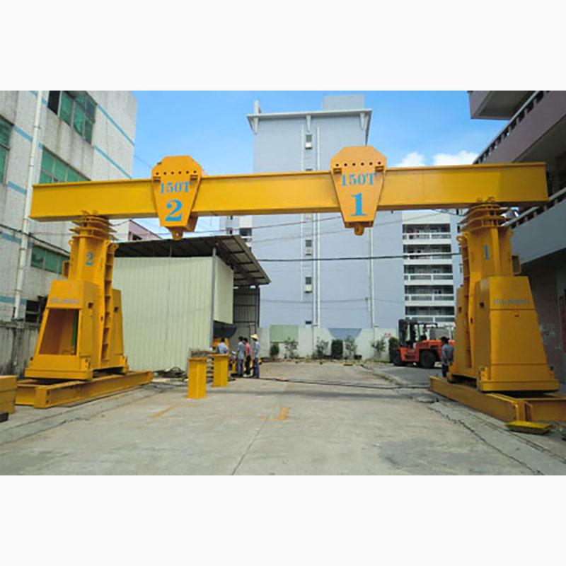 Hydraulic gantry crane