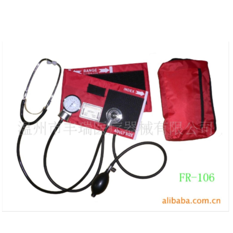 Blood pressure band dual head multifunctional stethoscope