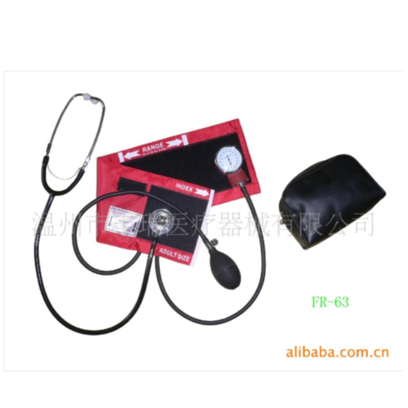 Sphygmomanometer double head stethoscope