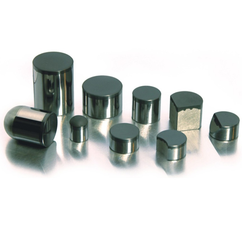 PCD compacts for petroleum drill bits