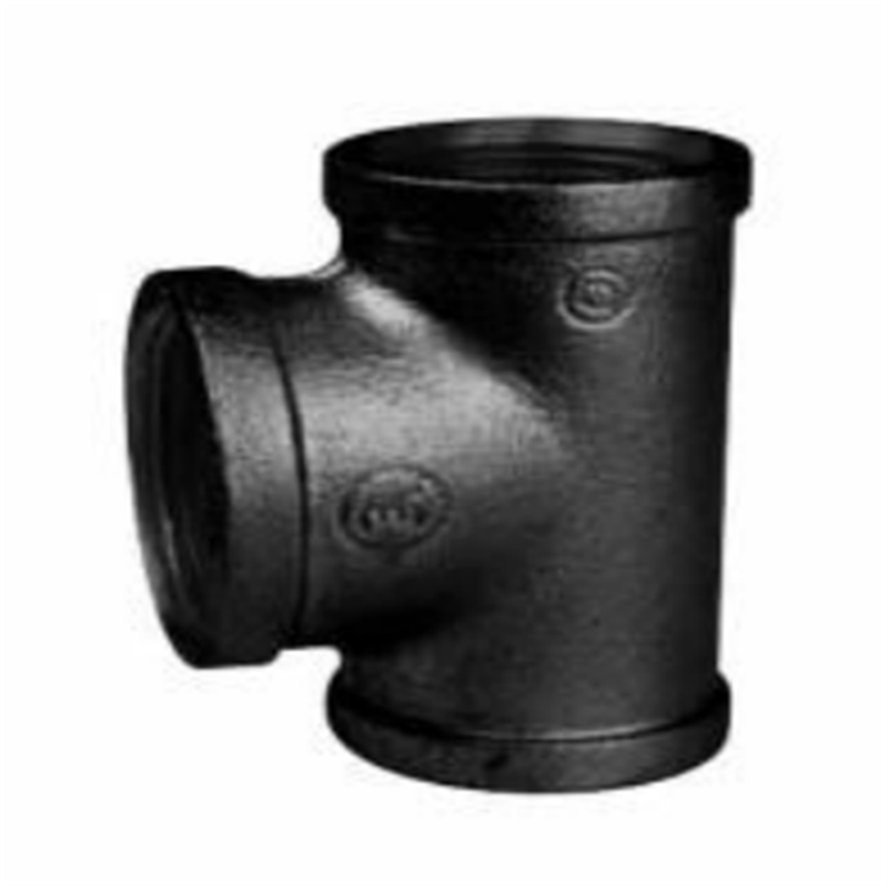 BS STANDARD MALLEABLE IRON PIPE FITTINGS-REDUCING TEE