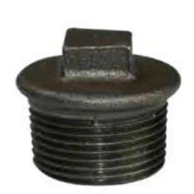 BS STANDARD MALLEABLE IRON PIPE FITTINGS-PLAIN PLUG