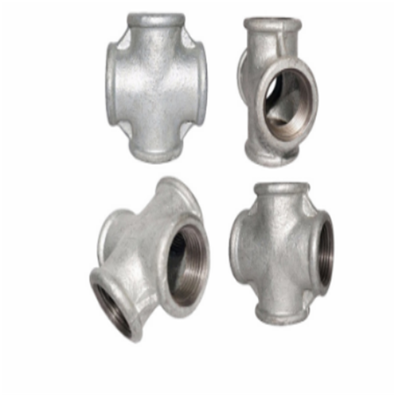 BS STANDARD MALLEABLE IRON PIPE FITTINGS-REDUCING CROSS