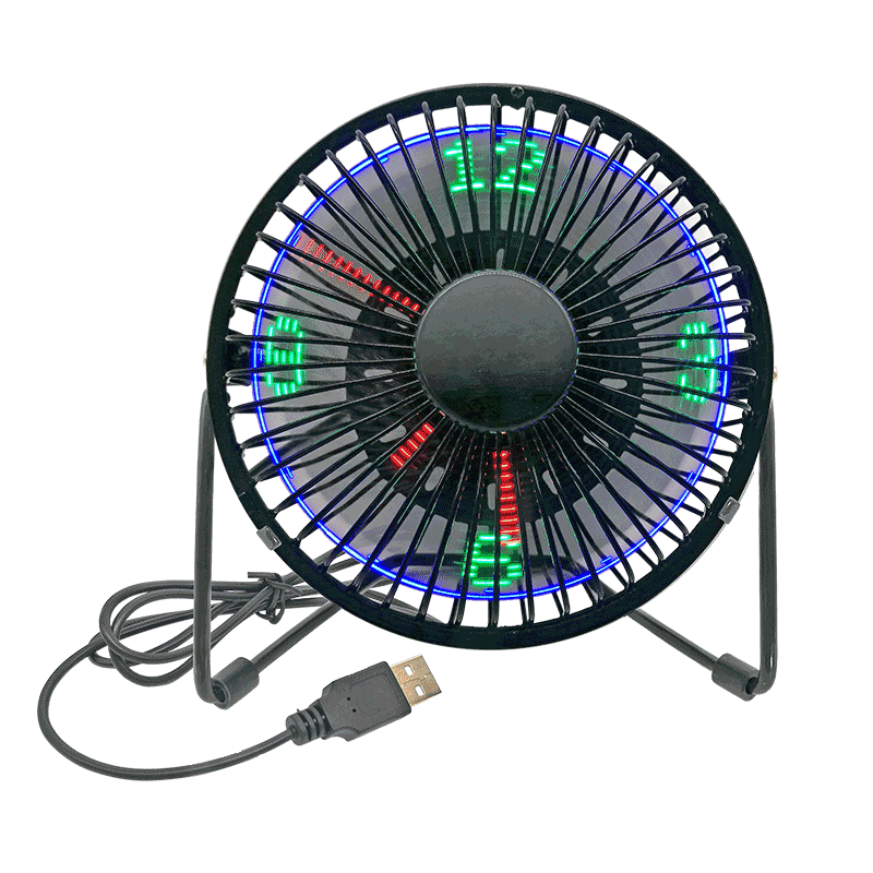 Desktop USB LED Fan (4 inch )4A