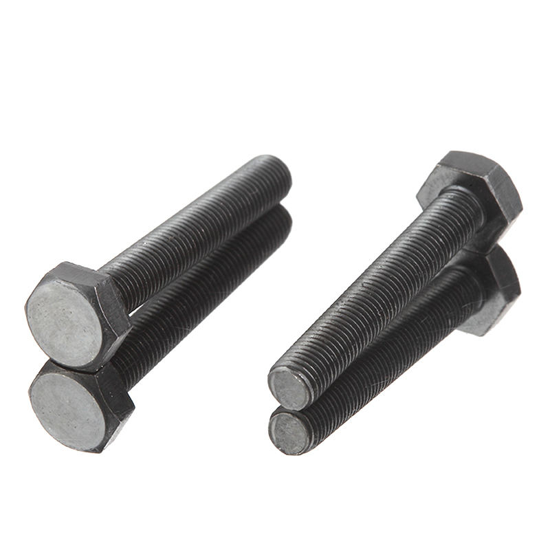 Black oxide Hexagon head UNC UNF bolt head dimensions