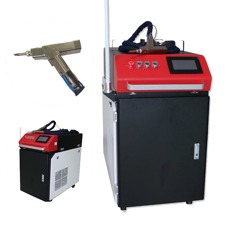 With Wobble head handheld high quality automatic fiber laser welding machine for stainless steel iron aluminum copper brass