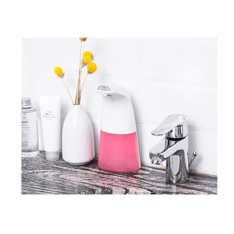 Touchless soap dispenser for soap and sanitizer