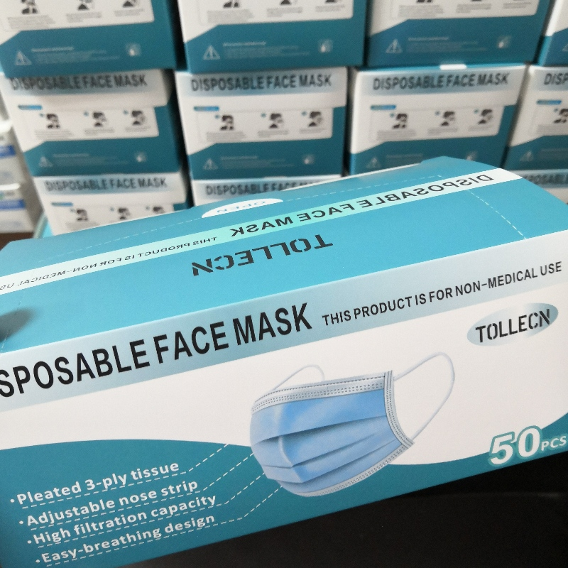 Disposable masks (non-medical)