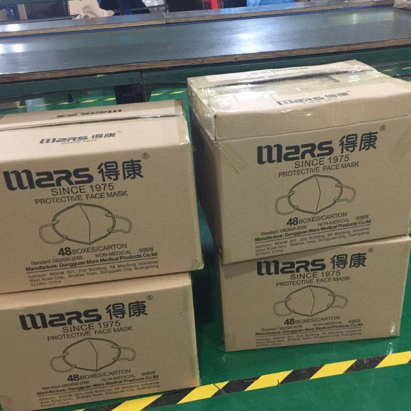 Chinese Mars N95 Mask with Niosh report FDA CE certificates