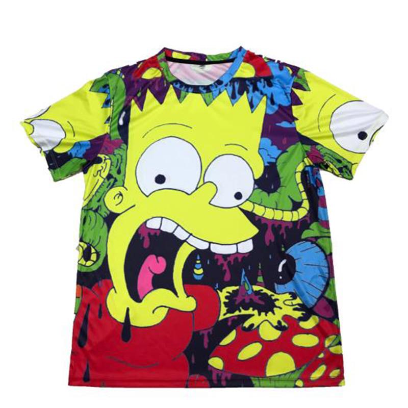 OEM Full Sublimation Printed T Shirt Wholesale Clothing Custom Long Sleeve T Shirt