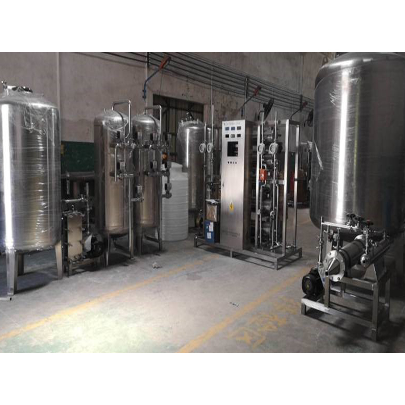 3t/H secondary reverse osmosis purified water system
