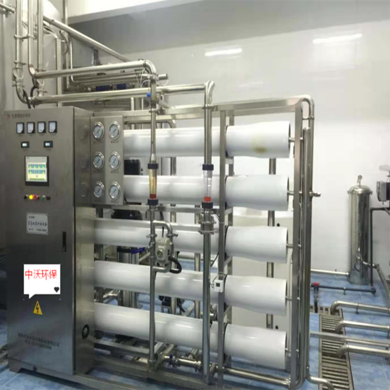 10 tons/hour secondary reverse osmosis pure water system