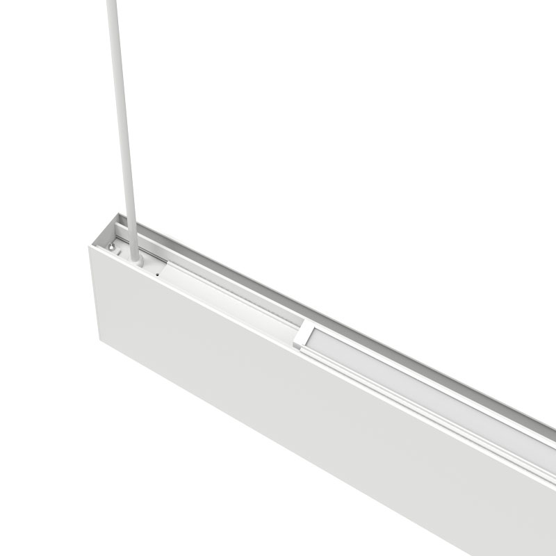 Anti-glare UGR<16 linkable solution without screws LED linear light for office classroom shopping mall fashion shop