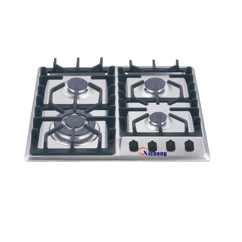 manufacturer cooking appliances 4 burner stainless steel gas stove