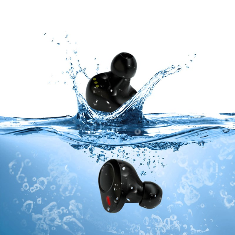 New bluetooth wireless tws touch control sport Headset noise cancel earphone headphone