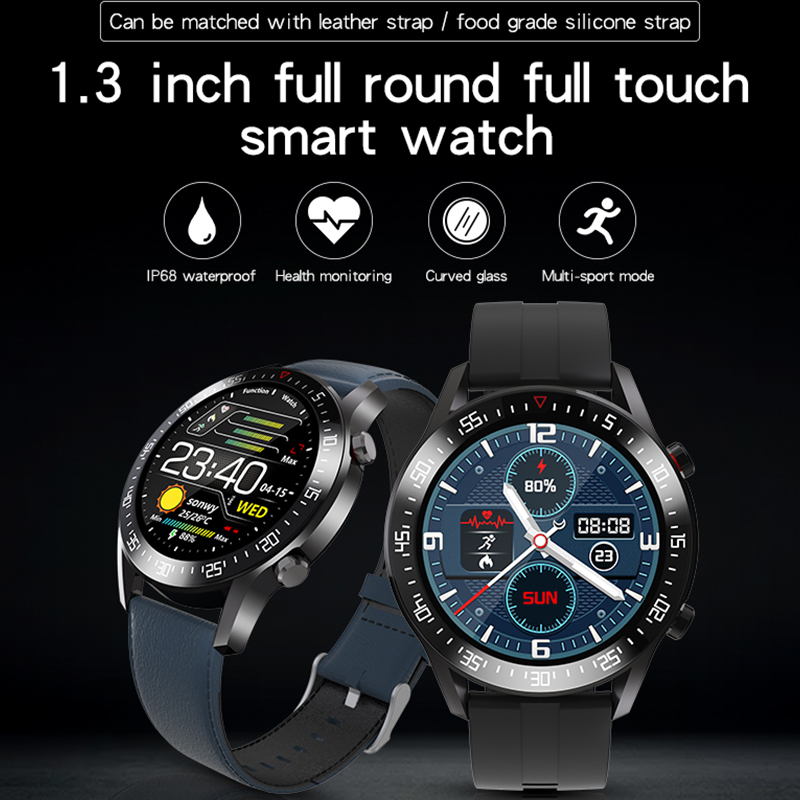 Smart Watch, Fitness Tracker with Heart Rate Monitor, C2