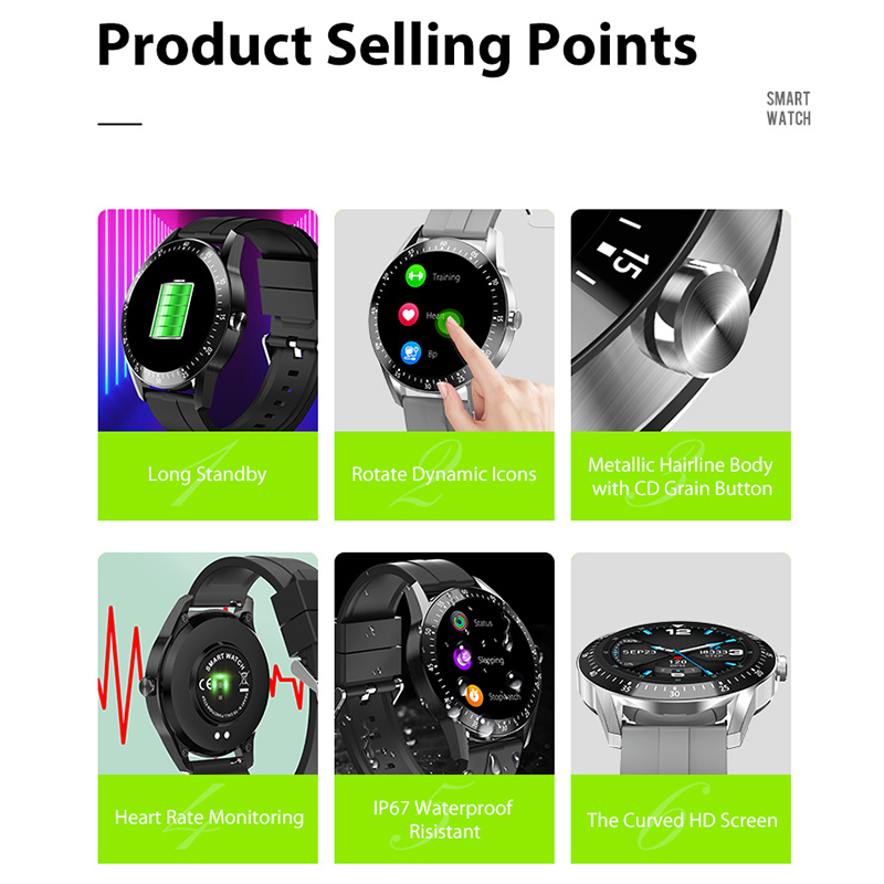Muliti-functional Smart watch  S11  Zinc-Alloy Material