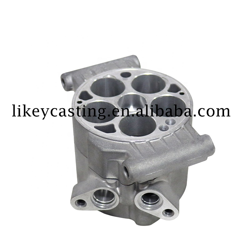Aluminum Alloy Squeeze Casting&Die Casting New Energy Car Compressor Main Body