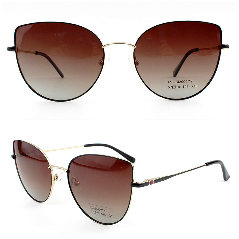 RT-SM001YY 57-18-148 Sunglasses Material:Metal & Polarized/Nylon lens