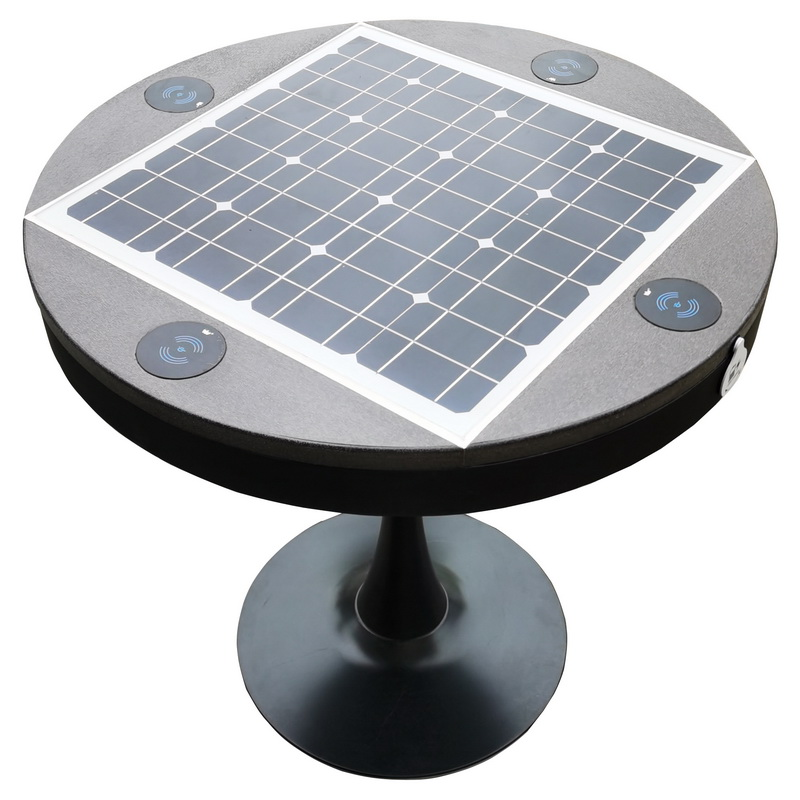 Wireless Charger Smart Wifi Multi-function High Quality Outdoor Solar Table