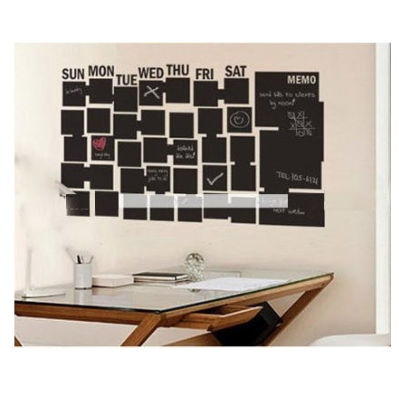 Cheap adhesive PVC chalkboard wall sticker