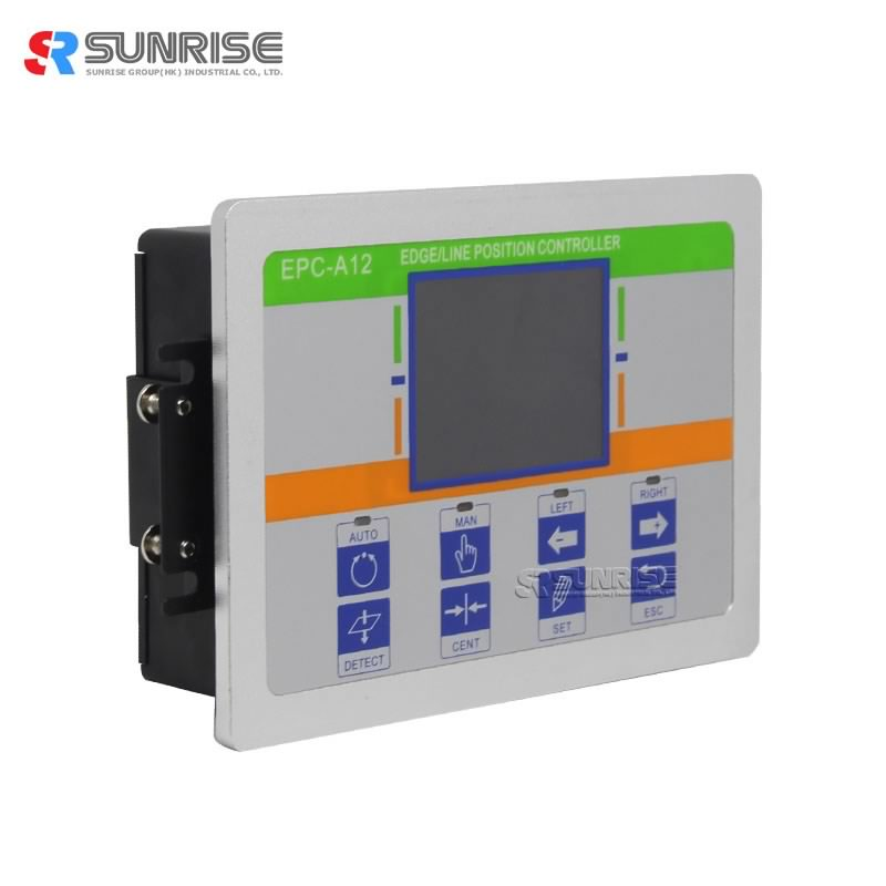 Printing Machine Use Web Guide Control System EPC-A12 Controller with photoelectric sensor