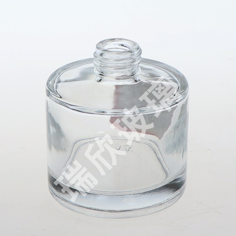 100ml Round Type Glass Bottle Reed Diffuser with Roller Cap
