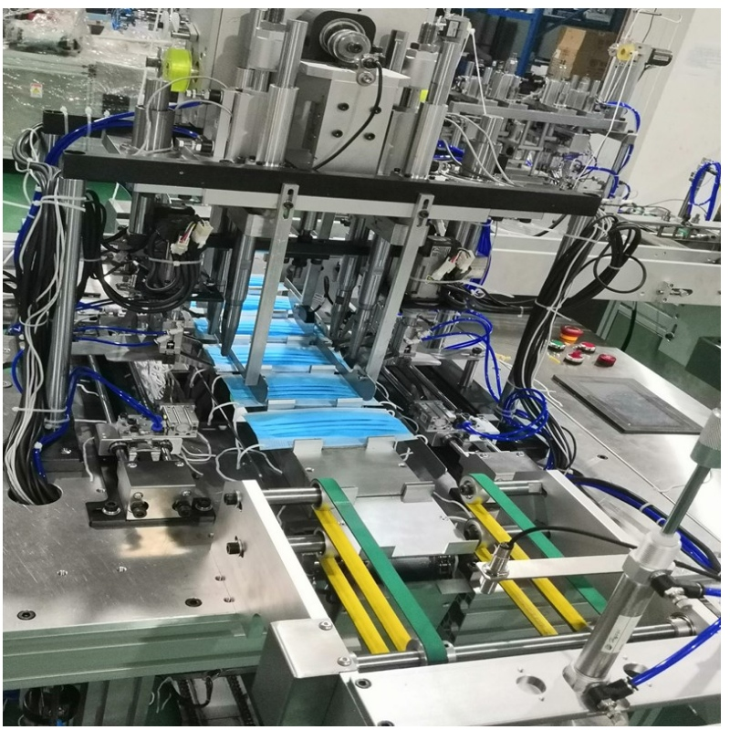 What are the characteristics of each system of plane mask machine?