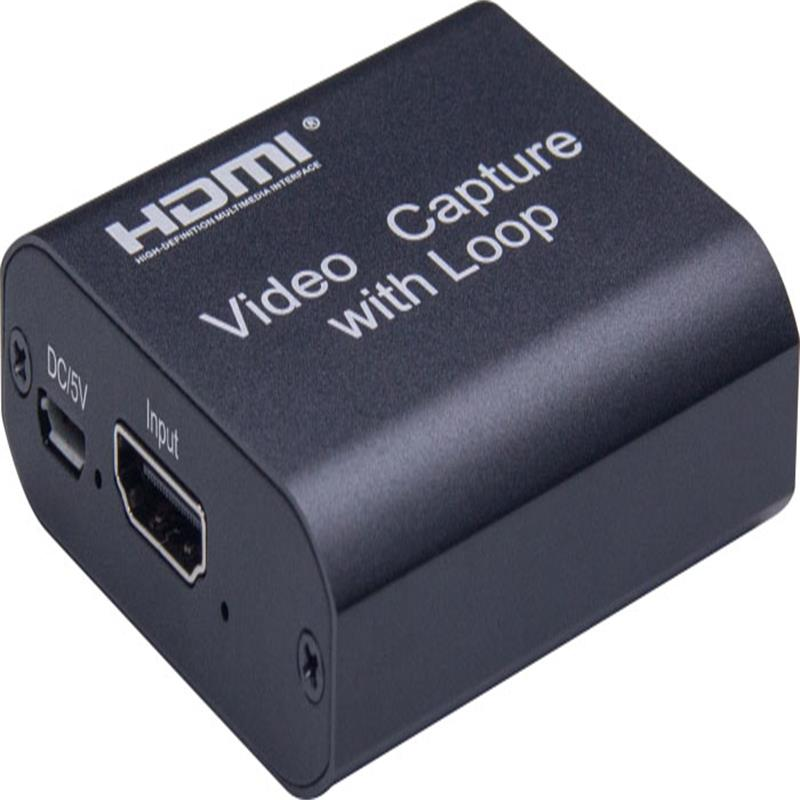 V1.4 HDMI Video capture with HDMI Loopout