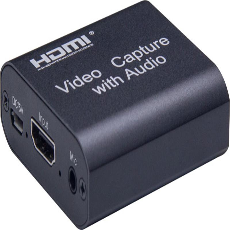 V1.4 HDMI Video Capture with HDMI Loopout,3.5mm Audio