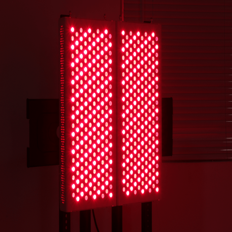 What are the benefits of red light therapy for human body?