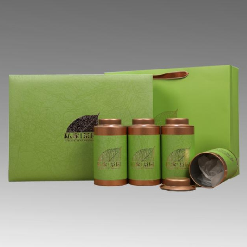 Tea box printing customization