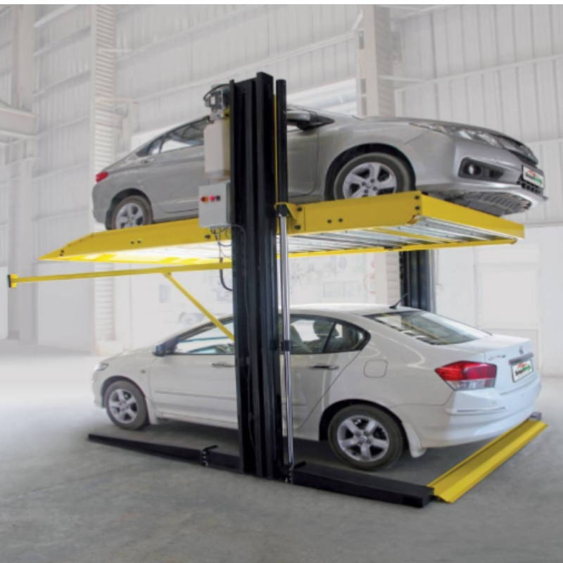 Shared columns Two Post Hydraulic car Parking Lift for household stereo  garages