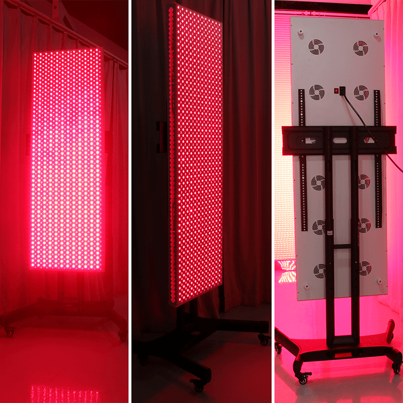What is the difference of red light LED therapy light 1000w joovv vs reddotled RD1000