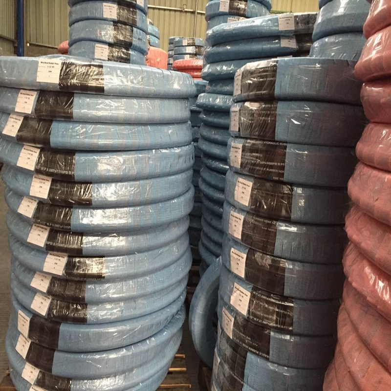 Packing and delivery of hydraulic hose
