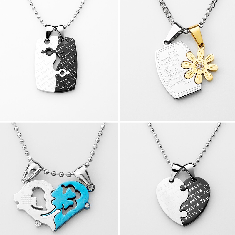 Lover Jigsaw Necklace