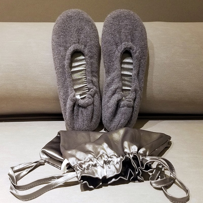 Cashmere Ballet Flat